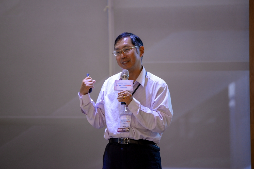 工研院資通所曾技術副組長分享「自動光學瑕疵檢測人工智慧應用」